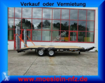 Möslein heavy equipment transport trailer Neuer Tandemtieflader 13 t GG