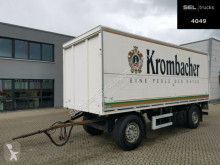 Przyczepa furgon do przewozu napojów Ackermann PA-F 18/6, 6E / Ladebordwand / Böse