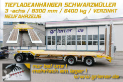 Schwarzmüller heavy equipment transport trailer G SERIE/ TIEFLADER / RAMPEN /BAGGER 6340 kg