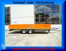 Möslein Tandem Pritschenanhänger trailer used dropside flatbed
