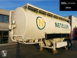 Remolque cisterna Spitzer Welgro 99WSL 23-16 / 5 Kammern /32,8 m3 /1 Achse