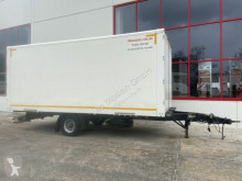 Möslein box trailer 1 Achs Kofferanhänger 4,5 t GG Durchladbar
