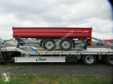 Fliegl three-way side trailer 3-Seiten-Kipper, TSK 118 , Auffahrrampenlager