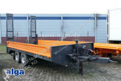 Möslein TT 105, 5.630mm lang, hydr. Rampen, 10to. GG trailer used heavy equipment transport