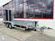 Humbaur Tandemtieflader mit Breiten Rampen trailer used heavy equipment transport