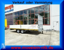 Möslein Tandem- Tieflader trailer used heavy equipment transport