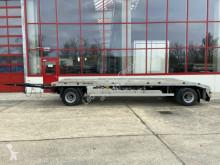 Müller-Mitteltal container trailer 2 Achs Kombi- Tieflader für Abroll- und Absetzm