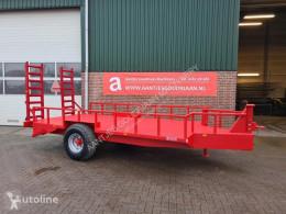 Remolque agrícola caja abierta portamaterial Oprijwagen/ bakkenwagen