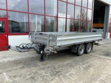 Tipper trailer Tandemkipper- Tieflader-- Neuwertig --