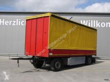 Reboque caixa aberta com lona Schmitz Cargobull AFG 18 Anhänger*Durchlade-Palettenka