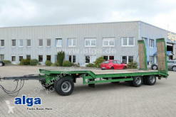 Langendorf heavy equipment transport trailer TUE 24/100-3, Rampen, SAF-Achsen, Blattfederung