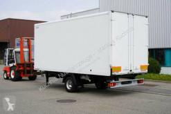 Reboque Spier ZGL 155 Tandem Koffer 6m 1-Achs Luftgefedert TOP furgão usado