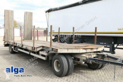 Goldhofer TU2-16/80, 2-Achser, Rampen, 8.200mm lang trailer used heavy equipment transport
