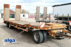 Heavy equipment transport trailer ATP 3.30, 3-Achser, Rampen, verbreiterbar, Blatt