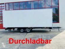 Box trailer Tandem Kofferanhänger vorn Durchladbar
