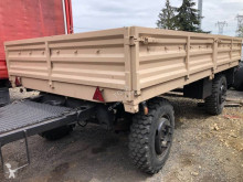 Hatty Marque Heuliez trailer used dropside flatbed