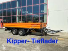 Remorque benne Möslein 13 t Tandemkipper- Tieflader