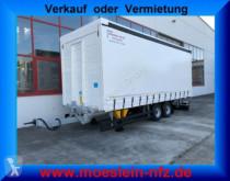 Möslein Tandem- Schiebeplanenanhänger, Ladungssicherung trailer used tautliner