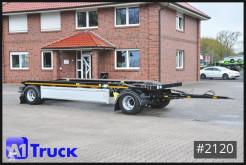 Hüffermann chassis trailer HAR 18.67 LS, pneumatische Verriegelung