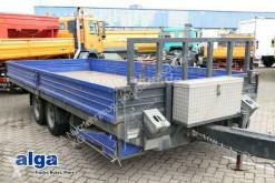 Hoffmann heavy equipment transport trailer LUT 11.0T, Tandem, Rampen, Zurrösen,6.000mm lang