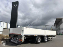 Remolque Müller-Mitteltal ETÜ-TA-ER 18,0 Nutzlast 13.610kg 6,27m Rampen portamáquinas usado