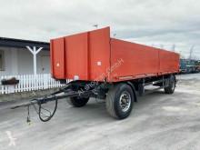 Schwarzmüller PA 2/E Pritsche Baustoff / PBW trailer used dropside flatbed