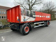 M&V NO2A21 Pritsche Baustoff trailer used dropside flatbed