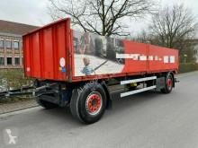 Dropside flatbed trailer M&V NO2A21 Pritsche Baustoff