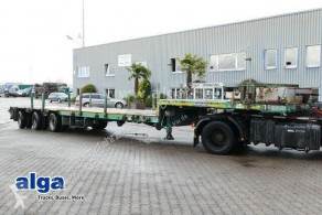 Goldhofer heavy equipment transport trailer STZ-L3.29/80A, Alu-Rampen, ausziehbar, gelenkt
