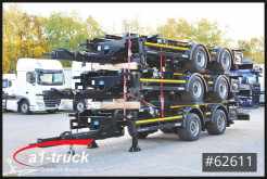 Kögel ZW 18 NEU Tandem, 1.020-1410 mm BDF trailer new chassis