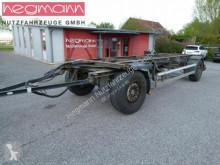 Schmitz Cargobull AWF 18L Wechsellafette, Drehschemelanh., deutsch trailer used chassis
