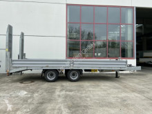 Heavy equipment transport trailer 19 t Tandemtieflader-- Neuwertig --