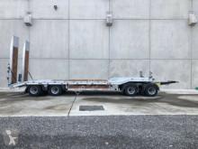 Möslein 4 Achs Tieflader- Anhänger Neufahrzeug trailer used heavy equipment transport