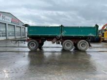Kässbohrer dropside flatbed trailer DKH 19 Kipper Anhänger** BJ. 1993 / Z.G 24000 KG