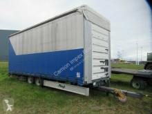 Fliegl tarp trailer TPS 135 B Tandem Gardine, Portaltüren, 8,10 m