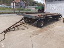 Fliegl flatbed trailer ZPS 200 Kombianänger Abroll & Absetzmulden Tieflader
