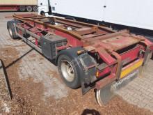Remorque Hüffermann HSA 18.70 Schlittenanhänger bis 7 m Container