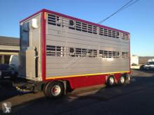 Remorque Pezzaioli 2 étages bétaillère occasion