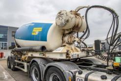 Yarı römork beton transmikser / malaksör Stetter BETON MIXER - 12M³