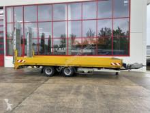 Müller-Mitteltal Anhänger Maschinentransporter 18 t Tandemtieflader hydr. Rampen-- Wenig Benut