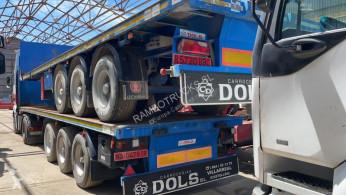 Lecitrailer Non spécifié trailer used flatbed