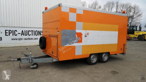 Brenderup Gesloten trailer met rioolreperatie machines trailer used box