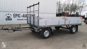 DOORNWAARD trailer used dropside flatbed