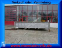 Remorque porte containers Abrollbehälter, Schlammdicht-- Neuwertig --