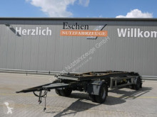 Remolque Meiller HKM Schlittenanhänger Container*BPW*Trommel portacontenedores usado