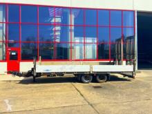 Tandemtieflader, breite Rampen, Seilwinde trailer used heavy equipment transport