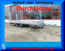 Remolque Möslein Neuer Tandemtieflader, 7,28 m Ladefläche portamáquinas usado