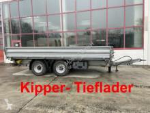 14 t Tandemkipper- Tieflader, 5,50 m lang-- Wen trailer used tipper