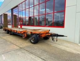 Müller-Mitteltal 3 Achs Tiefladeranhänger trailer used heavy equipment transport