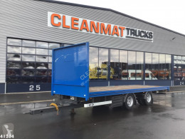 Van Hool 2-assige aanhanger trailer used flatbed
